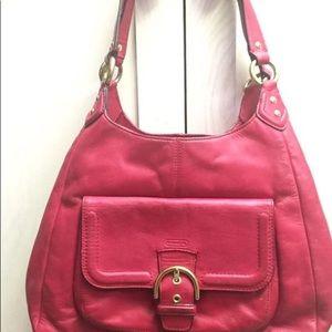 Coach shoulder hobo purse